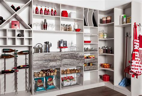 Kitchen Cabinet Wine Rack Ideas pantry shelving ideas with rustic country farmhouse appeal