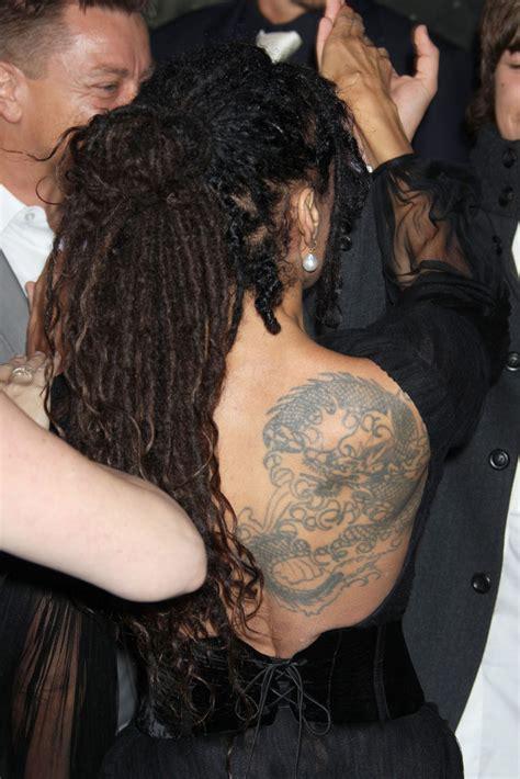 lisa bonet dragon tattoo lisa bonet looks stylebistro
