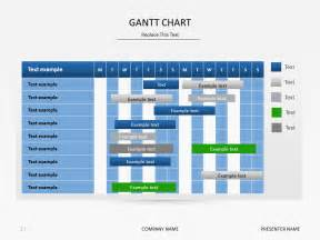 gantt chart template for powerpoint gantt chart presentation slide powerpoint timeline