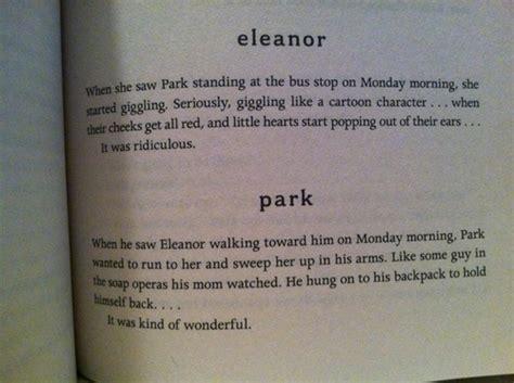 eleanor and park quotes eleanor and park quotes quotesgram