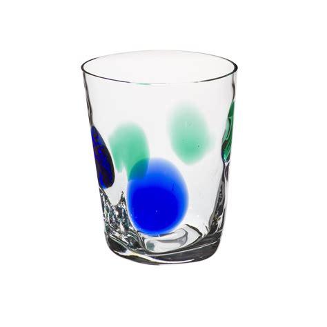 bicchieri verdi great bicchiere acqua bora pallini e verdi with