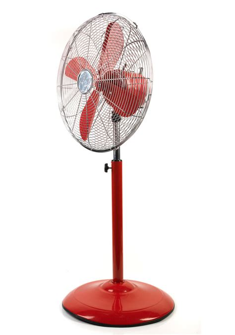 vintage look pedestal fan beldray retro 16 quot red pedestal fan beldray no1brands4you