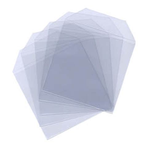 Plastic Covers For by 100 Cd Dvd Disc Clear Plastic Sleeve Wallet Cover Ebay