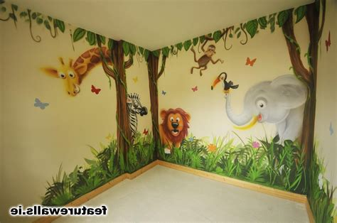 Jungle Bedroom Wallpaper Murals Room Diy Decor Jungle Wallpaper Ulti On Diy Nursery