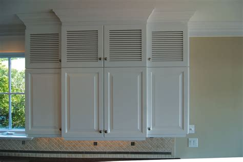 louvered cabinet door panels 4 styles of kitchen cabinet doors you can choose modern