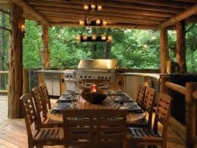 rustic outdoor kitchen ideas outdoor kitchens bringing nature right to the table in style