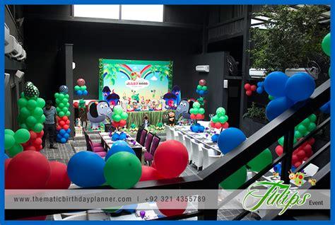 themed birthday party lahore babytv birthday party theme ideas in pakistan