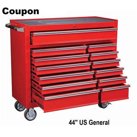 Us General 13 Drawer Tool Box roller cabinet tool box us general 44 quot 13 drawer save 330 00 with coupon boxes cabinets