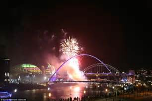 new years newcastle the uk welcomes in new year s 2016 with 12 000