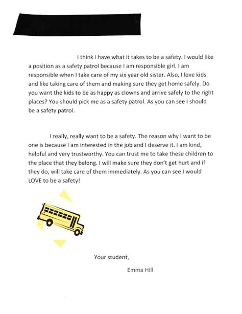 Being A School Principal Essay by The Letter That Landed My On The Safety Patrol