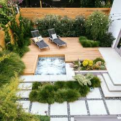 Decking Ideas Small Gardens Great Deck Ideas Sunset