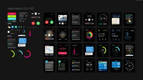 Wallpaper Apple Watch, GUI, interface, watches, wallpaper, 5k, 4k, review, iWatch, Apple