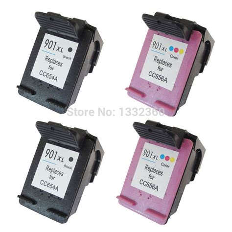 reset hp officejet j4680 4pk for hp 901 xl ink cartridge for hp901 901xl for hp