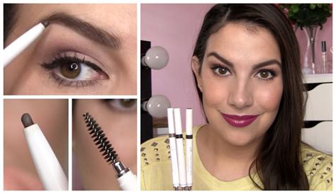 elf eye brow kit for black hair elf instant lift brow pencil review youtube