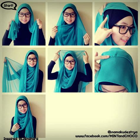 Pashmina Jilbab Pashmina Tutorial Tutorial And Hijabs On