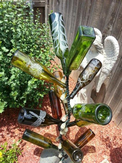how to make a wine bottle tree wine bottle tree bottle trees
