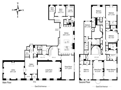Floor Plans Mansions Castle House Plans Mansion House Plans 8 Bedrooms 8