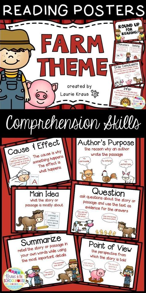 major themes in reading 51 best farm theme images on pinterest classroom ideas