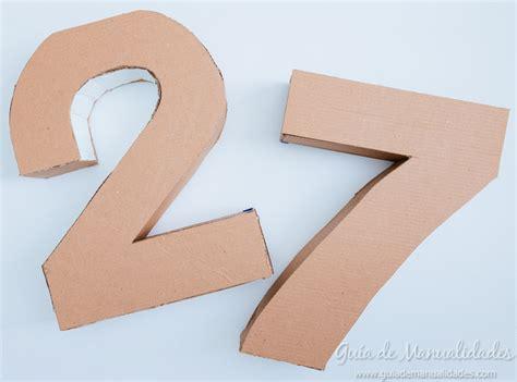 numeros para decorar n 250 meros de cart 243 n y papel para fiestas gu 237 a de manualidades