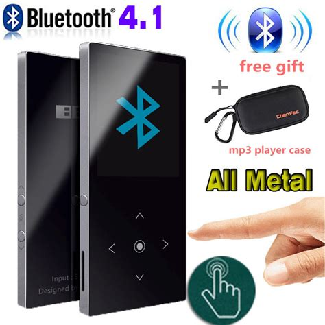 Benjie S1 Mp3 Digital Audio Player 8gb With Mic Recorder Hitam 1 1 bluetooth mp3 player touch screen benjie k8 ultra thin 8gb player 1 8 inch color screen