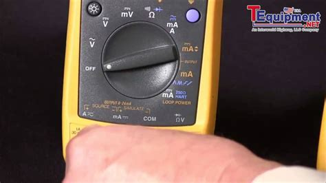 Multimeter Fluke 789 how to source 4 20ma using the fluke 789 process meter