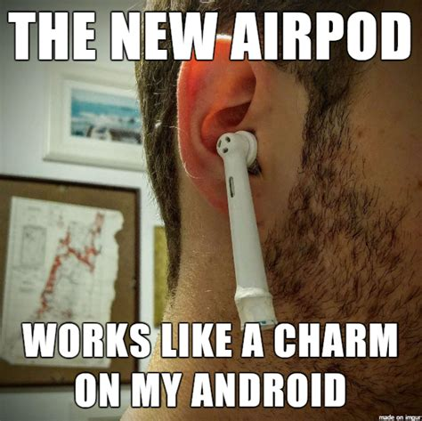 Toothbrush Meme - apple airpods vs everything else monique lombardo