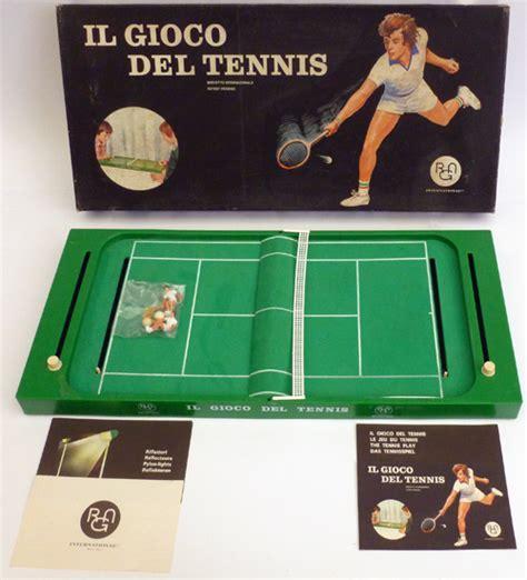 giochi da tavolo anni 70 il gioco tennis da tavolo rgn harbert anni 70
