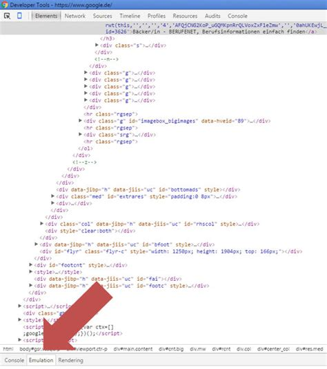 chrome developer console lokale suche so kann verschiedene orte testen