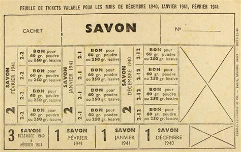 Tickets De Rationnement by Ad31 Dossiers P 233 Dagogiques Le Ravitaillement En Haute