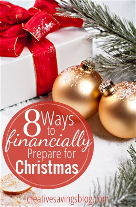 christmas for preparation 8 ways to financially prepare for