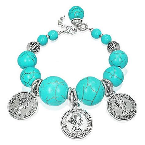 daily styles fashion alloy antique coin charm bali