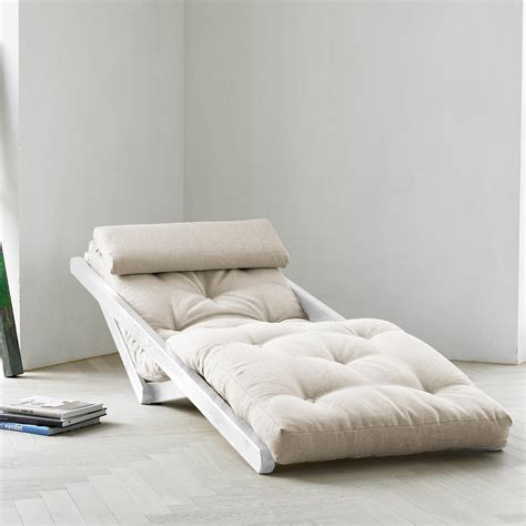 figo futon fresh futon figo natural white frame fresh futon