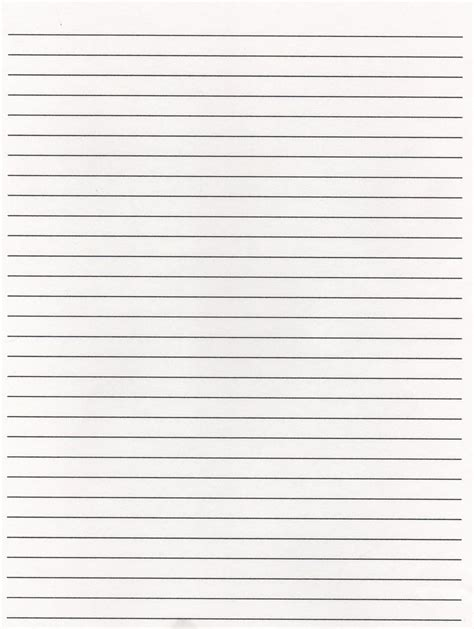 lined paper template word elementary lined paper template word