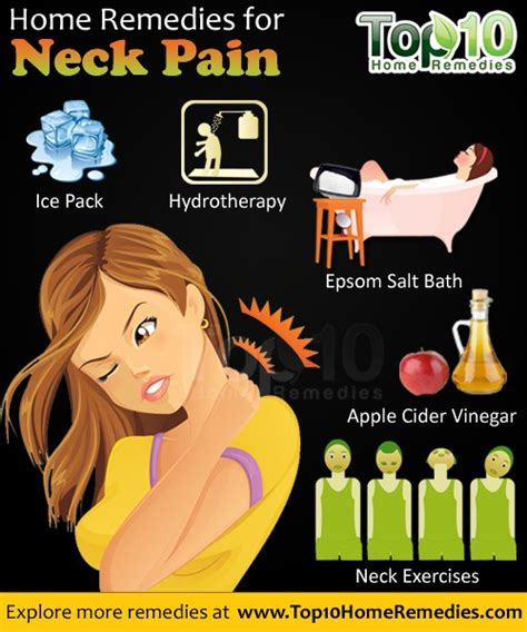 home remedies for neck top 10 home remedies