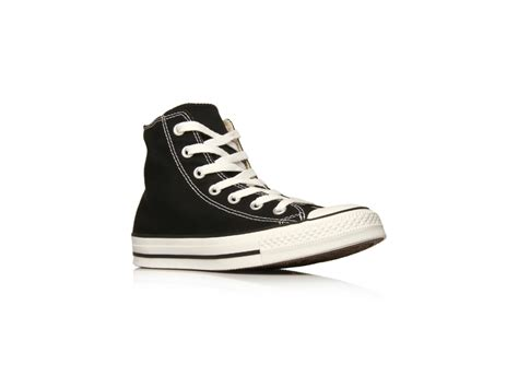 Converse High Klasik Black converse hi tops in black lyst
