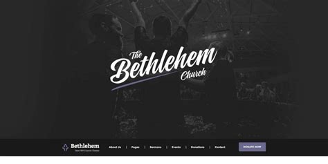 church themes 25 best church themes with sermon event management