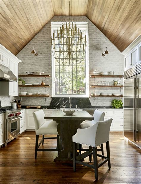 vaulted ceilings   kitchen pros  cons plank