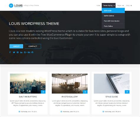themes wordpress 2017 10 free latest e commerce wordpress themes 2017 for