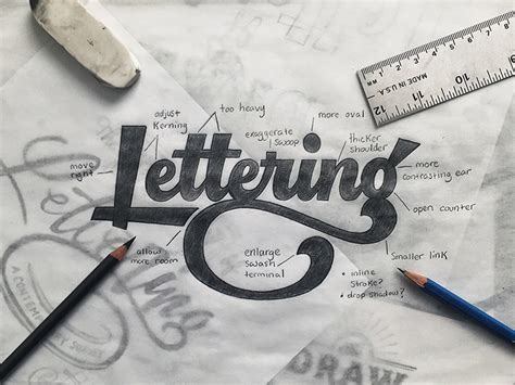 lettering sketch tutorial lettering legend colin tierney interview lettering