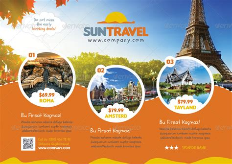 tour flyer template travel tour flyer templates by grafilker02 graphicriver