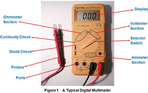 how to use a digital multimeter to test a resistor how to use a digital multimeter