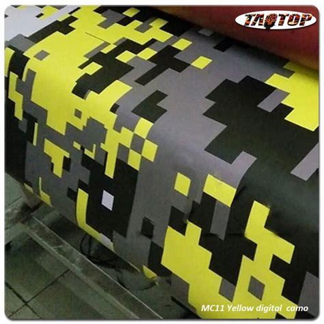 Autofolie Digital Camo by Taotop 1 52 30m High Quality Mc11 Yellow Digital Camo Car