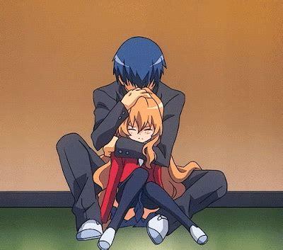 Anime Hug by Anime Hug Toradora Taiga And Ryuuji Hug Top Best Anime