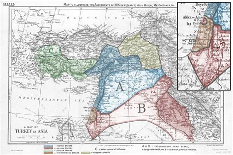 partitioning of the ottoman empire sykes picot attending the world