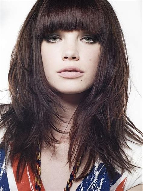 hair styles with edgy ends 18 best medium hairstyles haircuts for thick hair