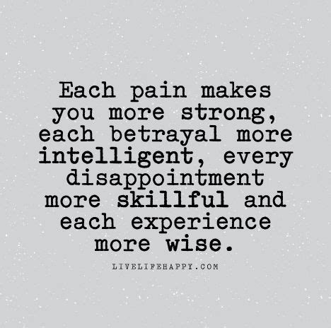 becoming more intelligent books each makes you more strong each betrayal more