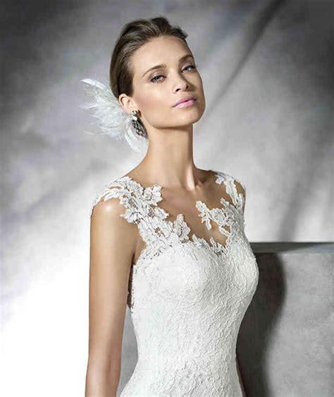 Hochzeitskleid Schlicht Mit Spitze by Einfache Spitze Hochzeitskleid Mit Blo 223 Er Hochzeitskleid