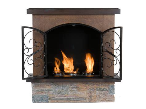 Aspen Indoor Outdoor Fireplace