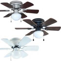 30 inch flush mount hugger ceiling fan w light kit bronze