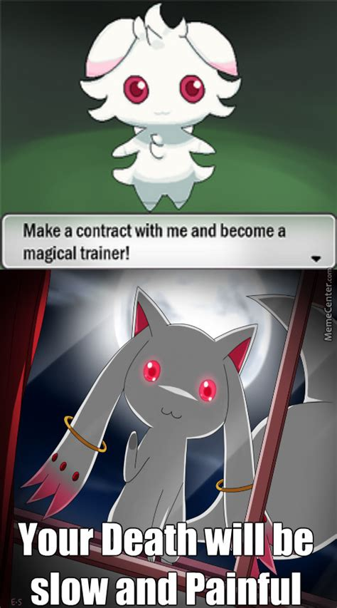 Magi Memes - espurr as incubator there can only be one puella magi